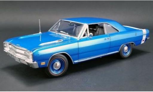 Dodge Dart 1/18 ACME GTS 440 bleue/blanche 1969 miniature