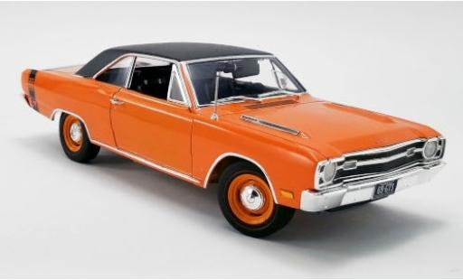 Dodge Dart 1/18 ACME GTS 440 orange/matt-noire 1969 miniature