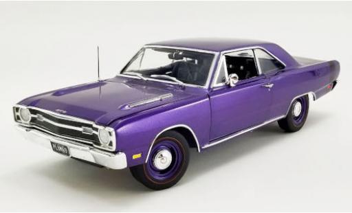 Dodge Dart 1/18 ACME GTS 440 Plum Crazy metallise lila/Dekor 1969 diecast model cars