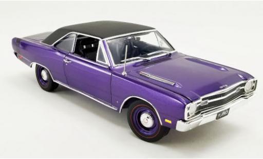 Dodge Dart 1/18 ACME GTS 440 Plum Crazy metallise lila/matt-black 1969 diecast model cars