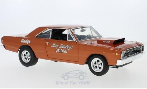 Dodge Dart 1968 1/18 ACME Hemi kupfer 1968 Max Hurley miniature