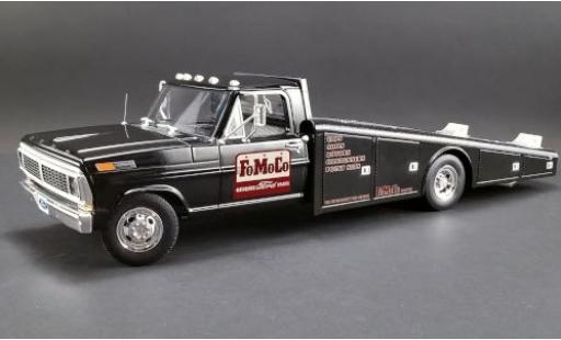 Ford F-350 1/18 ACME Ramp Truck black/Dekor FoMoCo 1970 diecast model cars