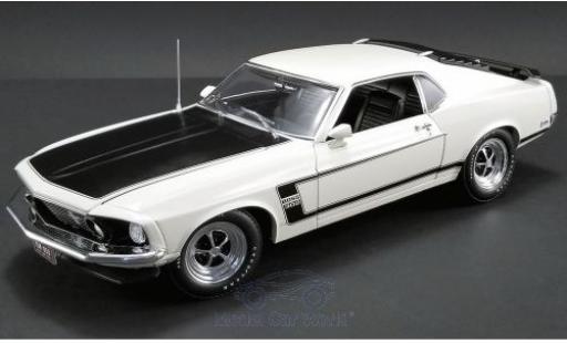 Ford Mustang 1/18 ACME Boss 302 beige/noire 1969 miniature