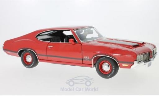 Oldsmobile 442 1/18 ACME W-30 rouge 1970 miniature