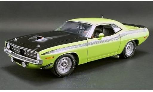 Plymouth Barracuda 1/18 ACME AAR verte/matt-noire 1970 miniature