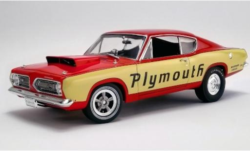 Plymouth Barracuda 1/18 ACME Super Stock Test Mule Woodward Garage 1968 miniature