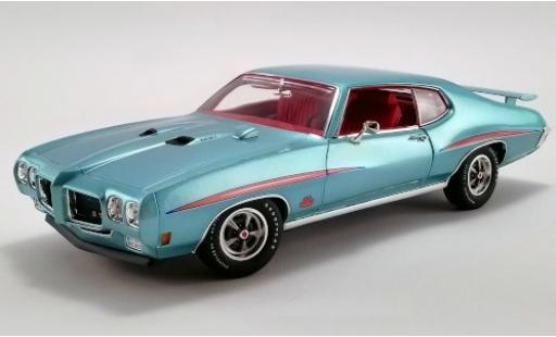 Pontiac GTO 1/18 ACME Judge metallise turquoise/Dekor 1970 miniature