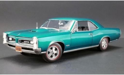 Pontiac GTO 1/18 ACME metallise turquoise 1966 diecast model cars