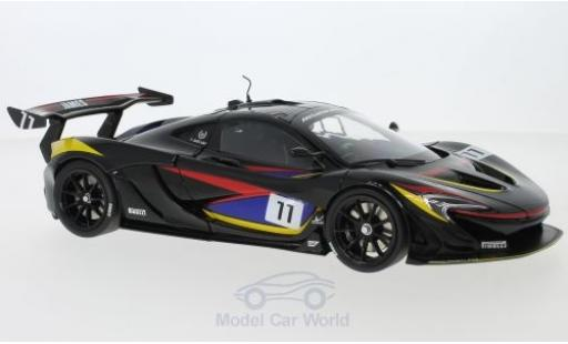 McLaren P1 1/18 Almost Real GTR RHD James Hunt 40th Anniversary miniature
