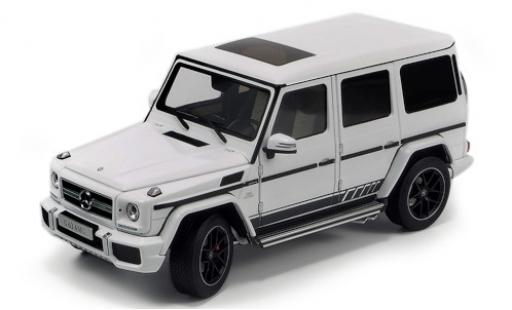 Mercedes Classe G 1/18 Almost Real AMG G 63 (W463) 463 Edition blanche 2015 miniature