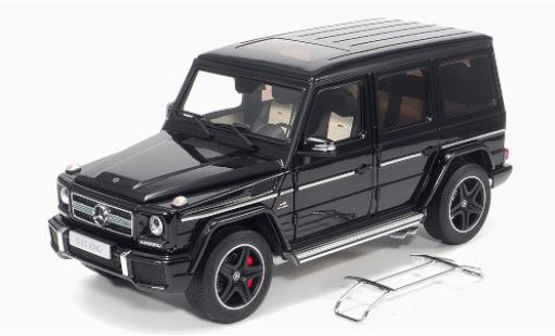 Mercedes Classe G 1/18 Almost Real AMG G63 (W463) noire 2015 miniature