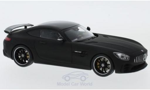Mercedes AMG GT 1/43 Almost Real R matt-noire miniature