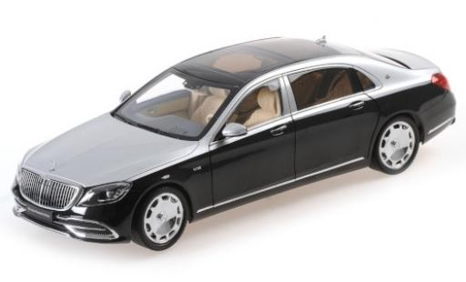 Mercedes CLA 1/18 Almost Real Maybach Classe S noire/grise 2019 miniature