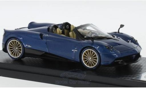 Pagani Huayra 1/43 Almost Real Roadster bleue/carbon 2017 miniature