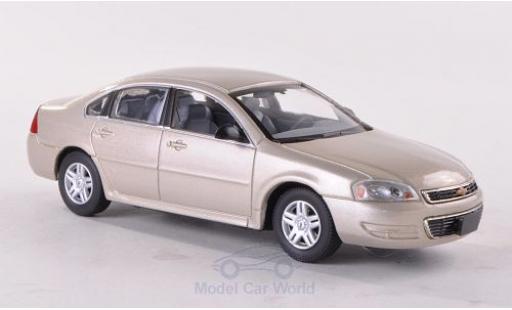Chevrolet Impala 2011 1/43 American Heritage Models metallise beige miniature
