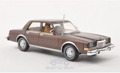 Dodge Diplomat 1/43 American Heritage Models metallic-brown 1985 diecast