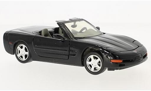 Chevrolet Corvette 1/24 American Mint/Motormax Convertible (C5) noire 1998 miniature