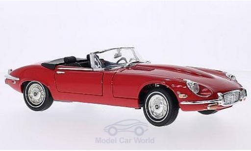 Jaguar E-Type 1/18 American Mint/Motormax rouge 1971 miniature