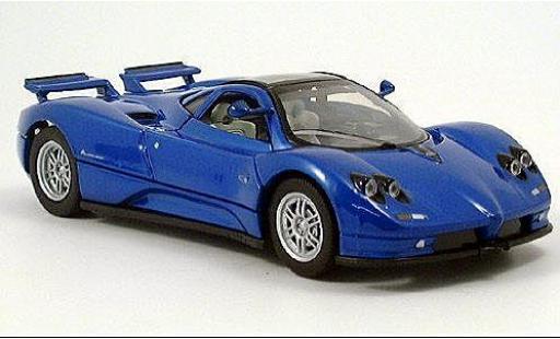 Pagani Zonda 1/24 American Mint/Motormax C12 metallise bleue miniature
