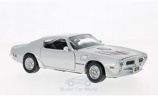 Pontiac Firebird 1973 1/24 American MintMotormax Trans Am grise/Dekor 1973 miniature