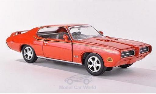 Pontiac GTO 1/24 American Mint/Motormax Judge orange 1969 diecast model cars