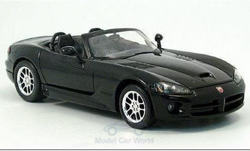 Dodge Viper 1/24 American Mint/Welly SRT-10 noire 2003 miniature