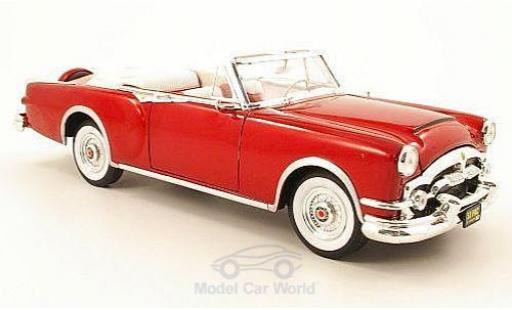 Packard Caribbean 1/18 American Mint/Yat Ming metallise rouge 1953 miniature