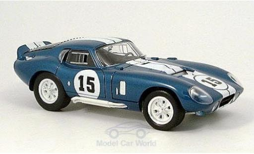 Shelby Cobra 1/18 American Mint/Yat Ming Daytona Coupe No.15 1965 miniature