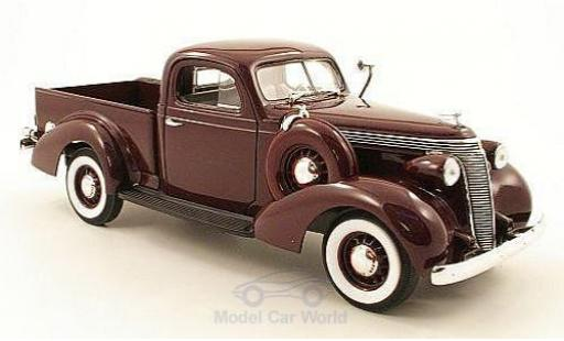 Studebaker Coupe Express 1/18 American MintYat Ming Pick Up dunkelviolett 1937 modellautos