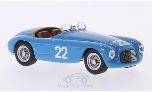 Ferrari 166 1952 1/43 Art Model MM Barchetta RHD No.22 GP Monte Carlo 1952 L.Ferraud miniature