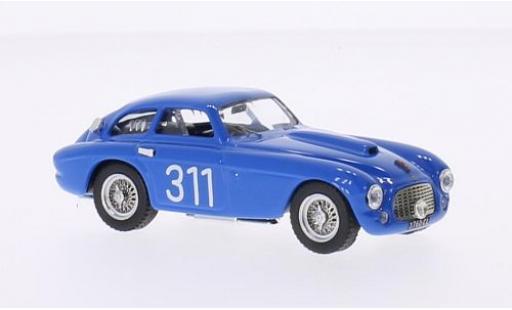Ferrari 166 1/43 Art Model MM Berlinetta RHD No.311 Giro di Sicilia 1953 F.Cornacchia/O.Frigerio coche miniatura