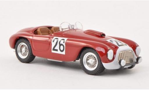 Ferrari 166 1/43 Art Model MM No.26 24h Le Mans 1950 Rubirose/Leygonie P.Rubirose/P.Leygonie miniature