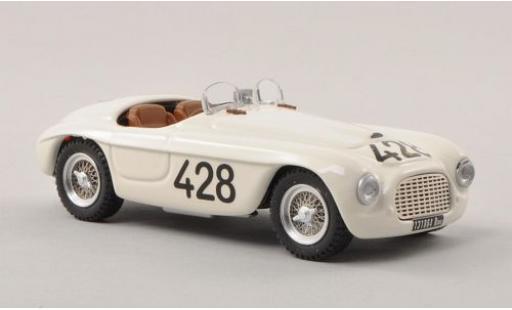 Ferrari 166 1/43 Art Model MM Spider No.428 Targa Florio 1950 L.Musso/A.Gaboardi miniature