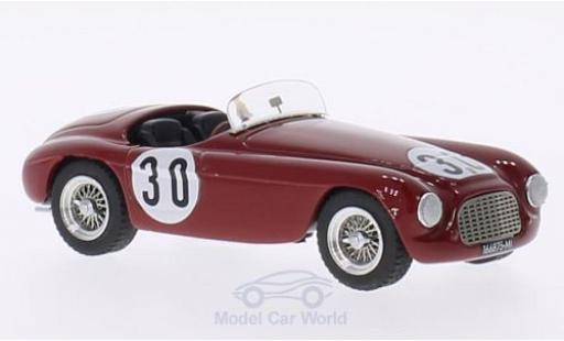 Ferrari 166 1951 1/43 Art Model MM Spyder RHD No.30 GP Portugal 1951 E.Castellotti miniature