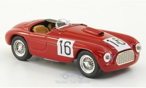 Ferrari 166 1950 1/43 Art Model Spyder RHD No.16 Paris L.Chinetti miniature