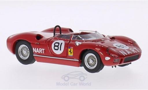 Ferrari 275 1/43 Art Model P RHD No.81 N.A.R.T. Bridgehampton 1964 P.Rodriguez miniature