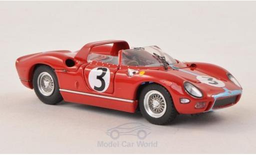 Ferrari 330 1/43 Art Model P No.3 Tourist Trophy 1964 G.Hill miniature