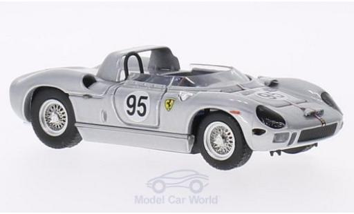 Ferrari 330 P 1/43 Art Model P RHD No.95 Bridgehampton 1966 B.Grossman miniature
