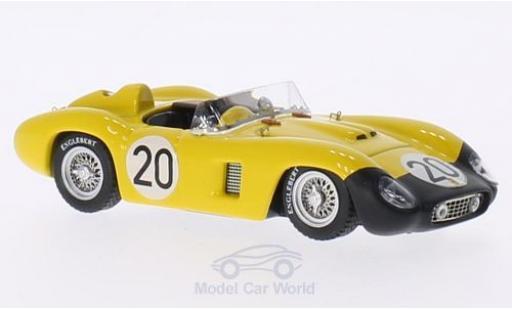 Ferrari 500 TR 1/43 Art Model TR RHD No.20 24h Le Mans 1956 L.Bianchi/A.De Changy miniature