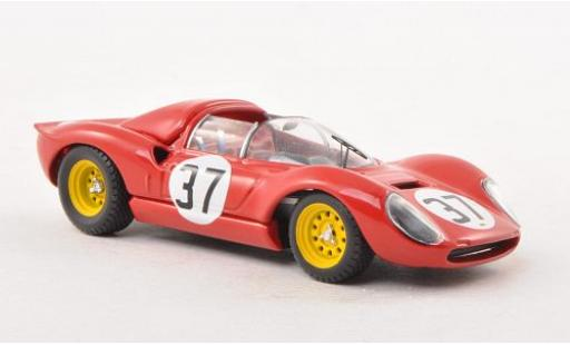 Ferrari Dino 1/43 Art Model 206 S Spyder No.37 GP Monza 1966 G.Biscaldi/M.Casoni diecast model cars