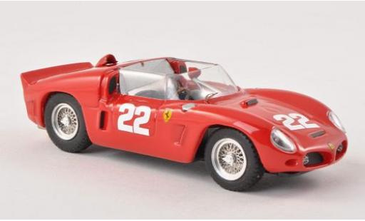 Ferrari Dino 1/43 Art Model 246 SP No.22 24h Le Mans 1961 v�hicule de test modellino in miniatura