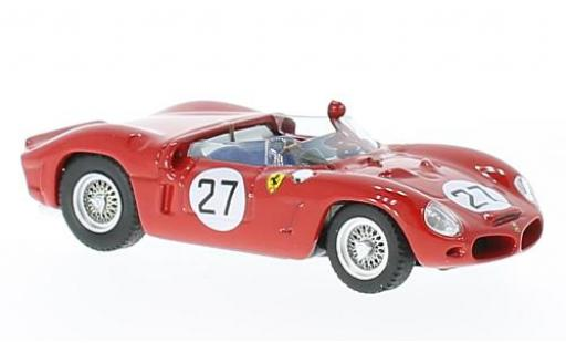 Ferrari Dino 1/43 Art Model 268 SP RHD No.27 Caracalla 1947 Vaccarella modellino in miniatura