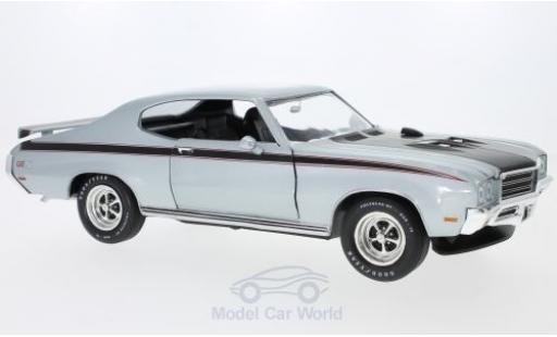 Buick GS 1/18 Auto World X grise/noire 1971 miniature