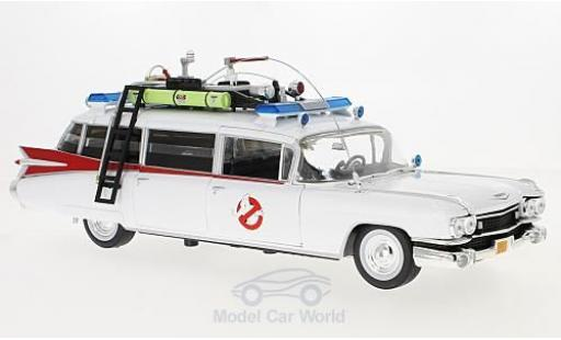 Cadillac Ghostbusters 1/18 Auto World Ecto-1 blanche 1959 (ca. 1:21) miniature
