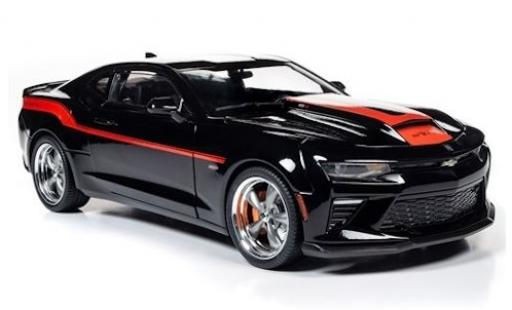 Chevrolet Camaro 1/18 Auto World Yenko Stage 1 black/red 2018 diecast model cars