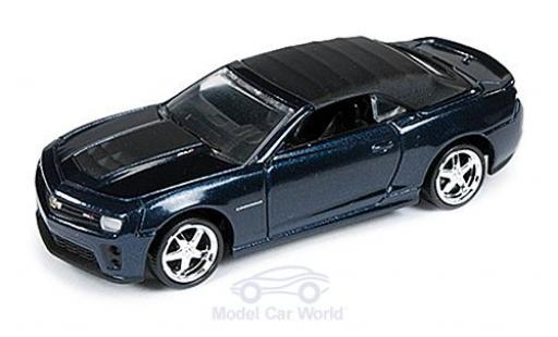 Chevrolet Camaro 1/64 Auto World ZL1 Convertible metallise bleue 2013 ohne Vitrine miniature