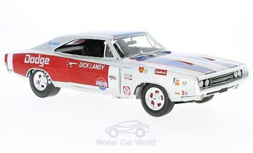 Dodge Charger 1/18 Auto World R/T 1970 D.Landry ohne Vitrine miniature