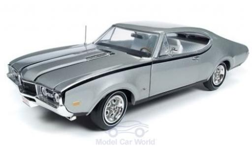 Oldsmobile Cutlass 1/18 Auto World Hurst grise 1968 miniature