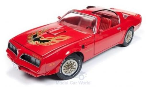 Pontiac Firebird 1/18 Auto World Trans Am rouge/Dekor 1977 miniature