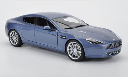 Aston Martin Rapide 1/18 AUTOart metallise blue 2010 diecast model cars